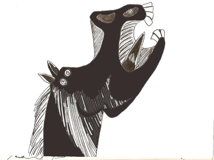 """Picasso """"Testa di cavallo"""" - mdm"""
