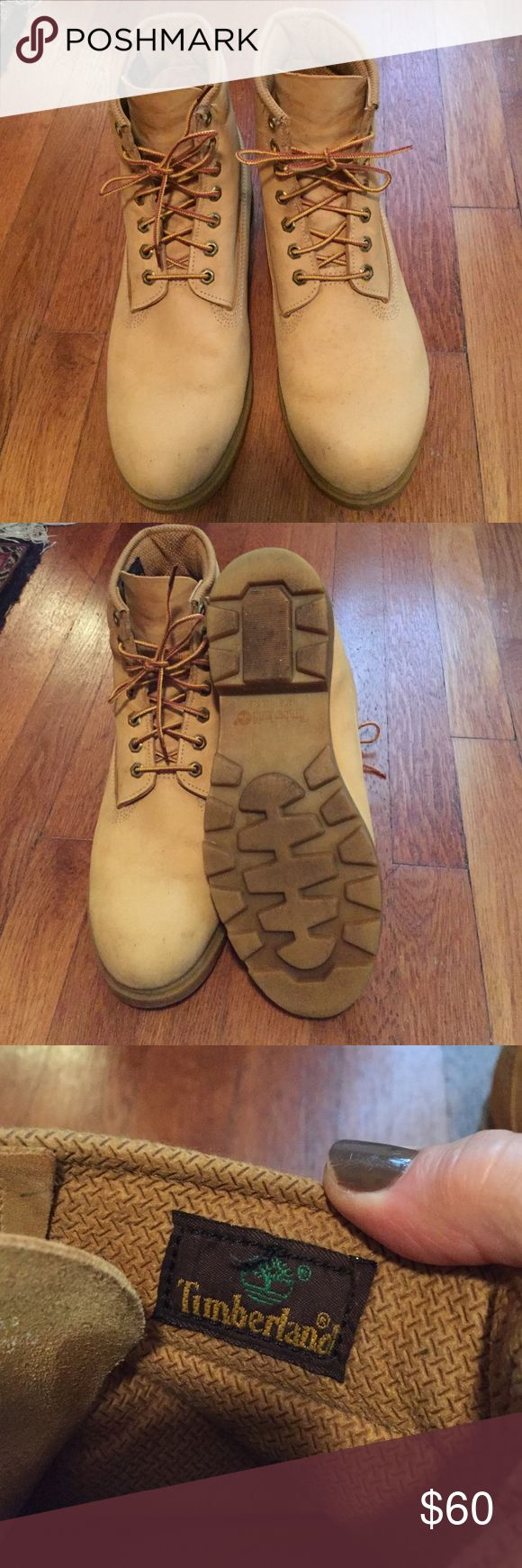 Men's Timberland Boots Men's Timberland Boots Size 10.5M. Excellent condition, gently worn. Leather upper, thinsulate lining, Lug sole. Made in the USA. Timberland Shoes Boots