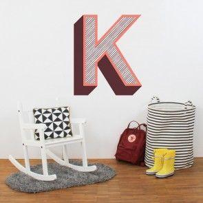 Wandbuchstaben in 3D Optik von Limmaland