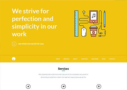 OneEngine - Free Multi-purpose One Page WordPress Theme - EngineThemes