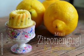 Überall & Nirgendwo: Zitronenminigugl mit Mascapone und Pistazien