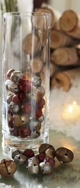 51 Ideas To Use Jingle Bells In Christmas Décor
