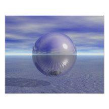 #Peaceful #Purple Planet Ocean Love Peace Harmony #Poster