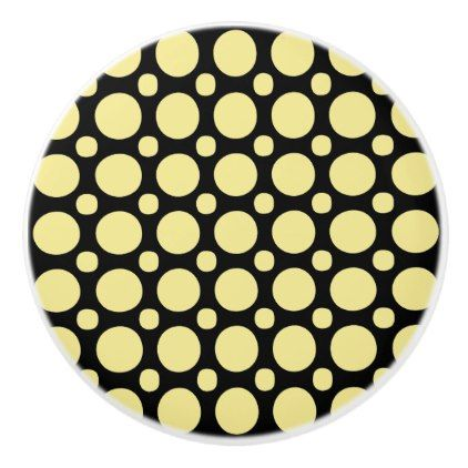 Circles  Graphic Design  Any Background Color  Ceramic Knob - trendy gifts cool gift ideas customize