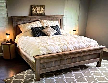 custom wood platform bed furniture by brad greater nashville area tn www
