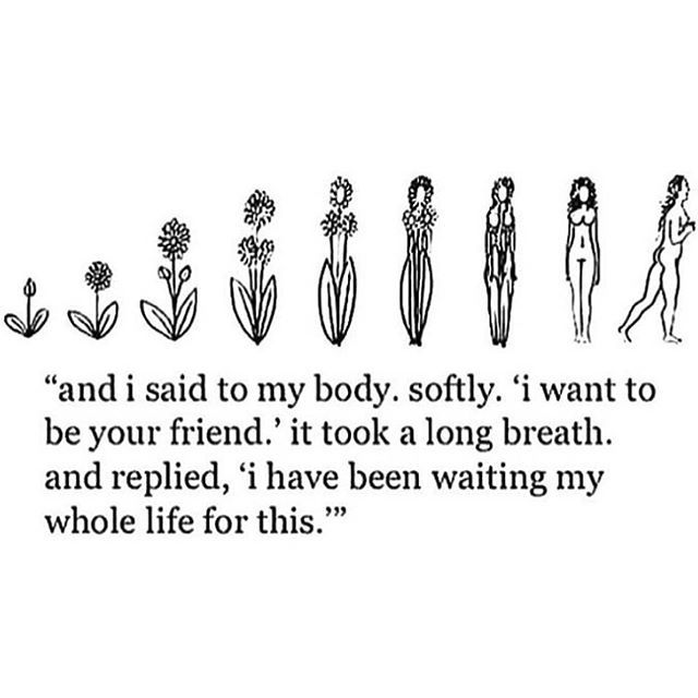 It took forever for me to be this..its only recently that I have cared to take care of myself..