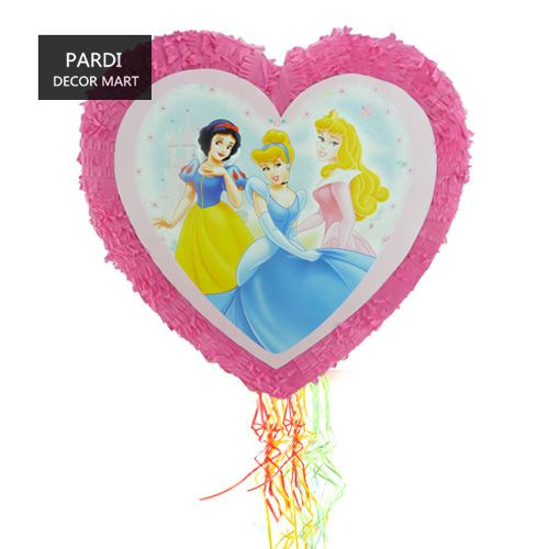 New Heart shape three princess Pinata birthday party christmas party beating props party supplies 1pc/lot #Affiliate
