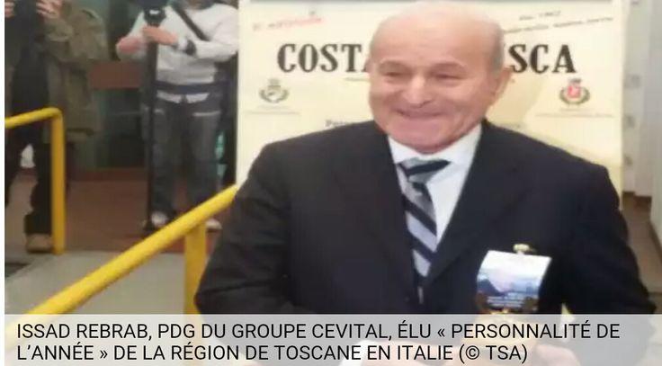 makouda  « Distingué en Italie, Issad Rebrab : « Nous n'avons aucun problème avec le gouvernement algérien » | actu33: Information et Actualité  » | Staraffaires