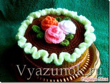 Вязаный торт - Страна Мам