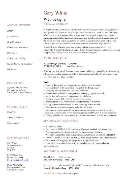 The 25+ best Web developer cv ideas on Pinterest Web developer - web design resumes