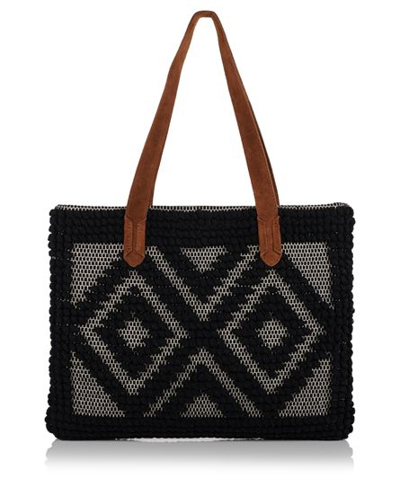 Superdry Masai Tote Bag Black