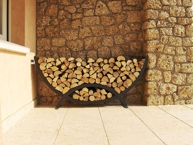 23 best firewood storage indoors and outdoors images on for Log storage ideas