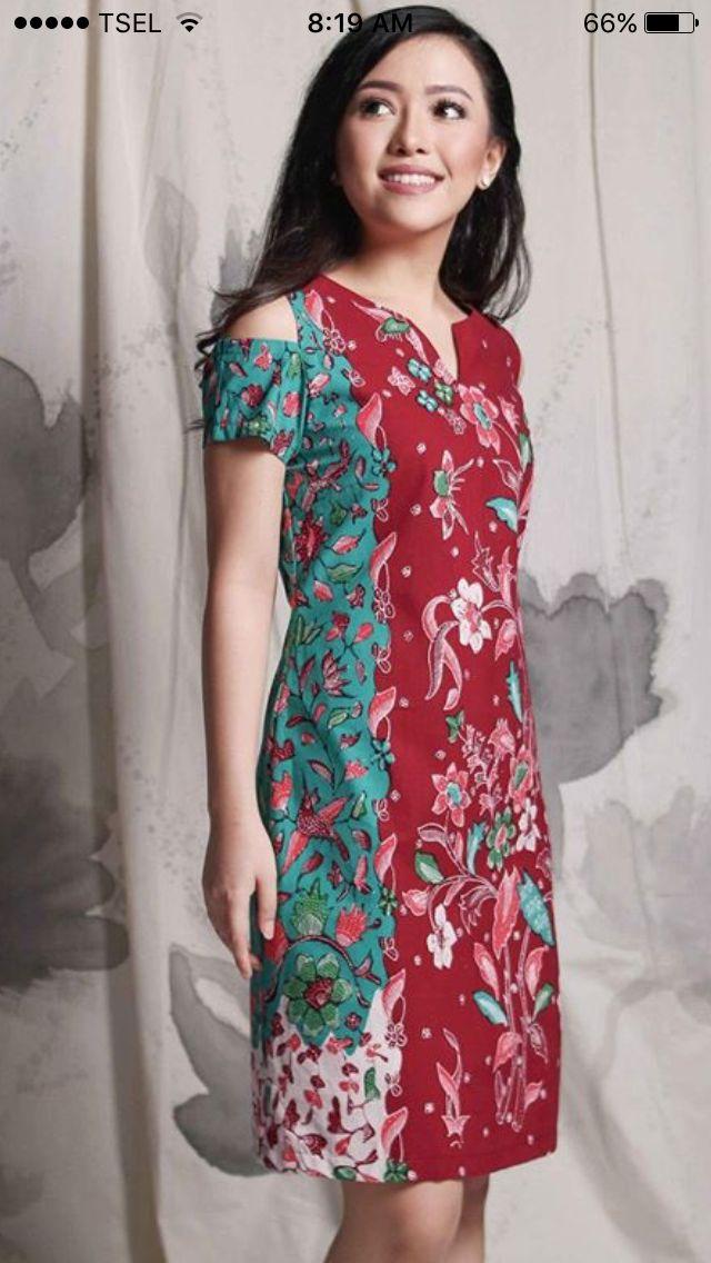 Pin oleh Paula Prasetya di I ️BATIK | Pakaian wanita