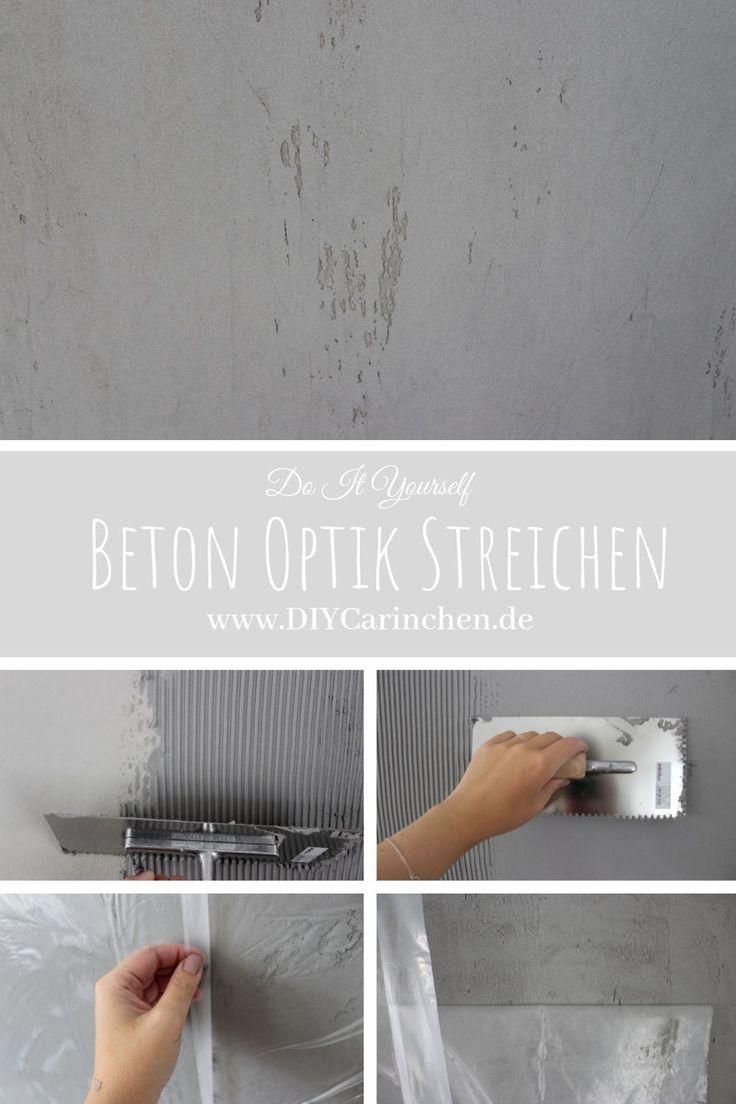 Diy Wandgestaltung In Beton Optik So Einfach Geht Es In 2020 Diy Wandgestaltung Wandgestaltung Schoner Wohnen Farbe