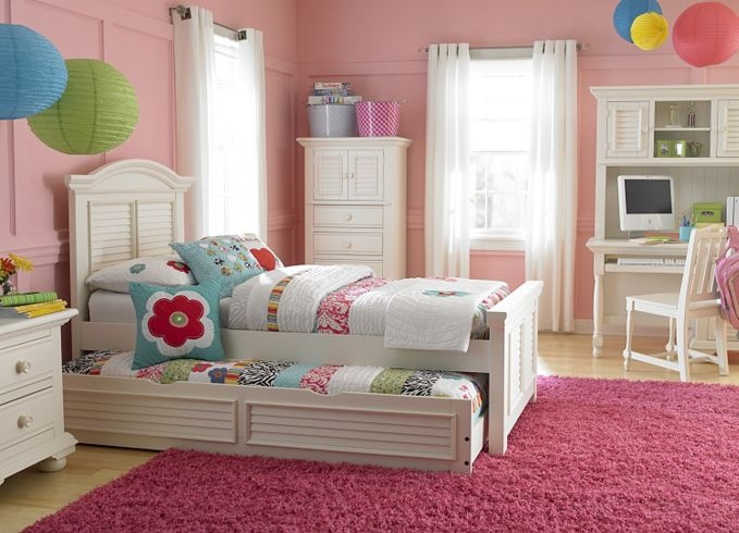 Bedroom Furniture, Cottage Retreat II Twin Panel Bed with