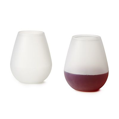 Just found B's Father's Day gift: silicone wine glasses - set of 2. Perfect by the pool because you can squish 'em :)