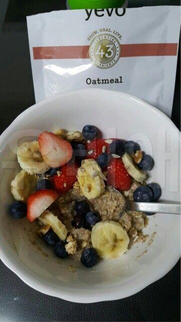 최고의 식사 예보 오트밀 ♡ yevo oatmeal