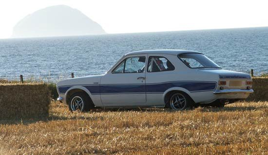 Mk1 RS2000 by the sea