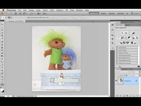 Grunderna i Photoshop CS5 - 35 Ge mer skärpa