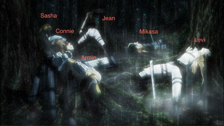 Shingeki no Kyojin » Theory | A scene from Eren's ...