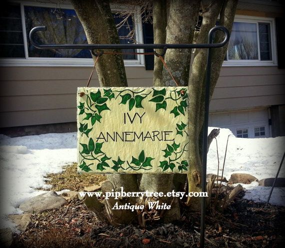 Decorative Slate Signs Best 13 Best Welcome Slate Signs Images On Pinterest  Slate Signs Decorating Inspiration