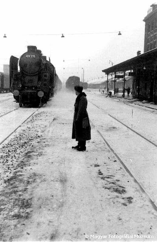 1962. Vasútállomás.