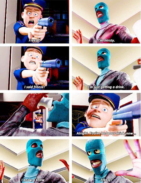 The Incredibles watch this movie and you are going to turn into an incredibles