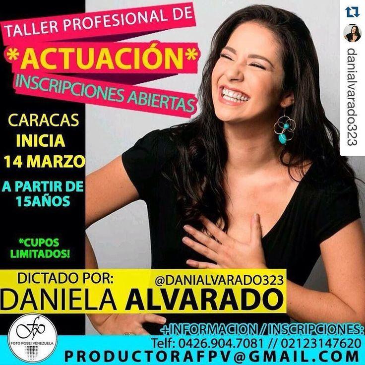 #Repost @danialvarado323  A partir del 14 de Marzo. Para inscripciones pueden comunicarse al mail  que esta en el Post. A partir de 15 años en adelante... #HaganmeCasoQueYoSeLoQueLesDigo #FPVGIRL #actuacion #taller #curso #profesional #fpv #academia #agencia #moda #like