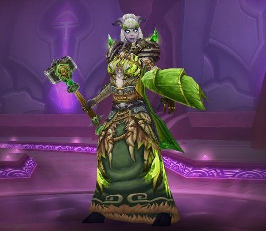 Draenei Elemental Shaman Transmog WoW