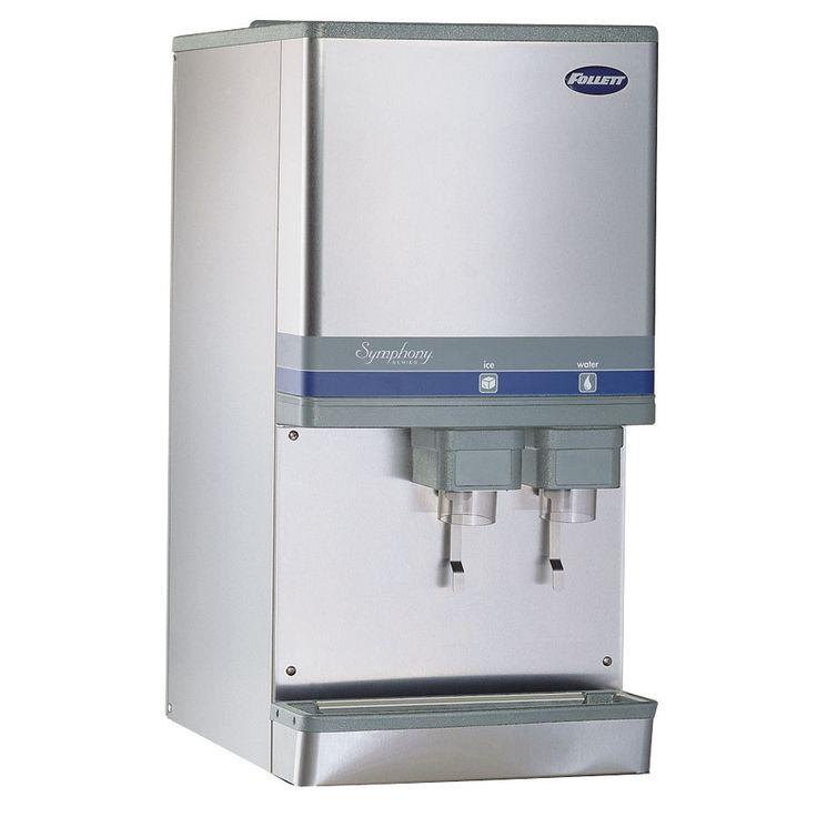 follett 12ci425al symphony countertop air cooled ice maker and water dispenser 12 lb - Countertop Water Dispenser