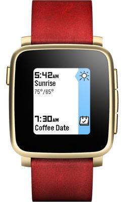 Pebble Watch Time Steel