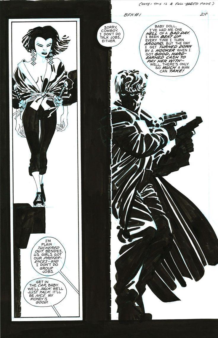 Frank Miller - Comic Artist - Gallery of the Most Popular Comic Art