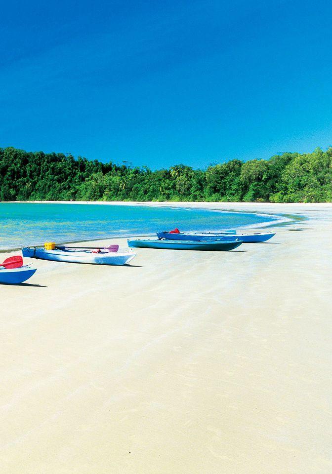 Cape Tribulation Beach,Queensland, Australia :