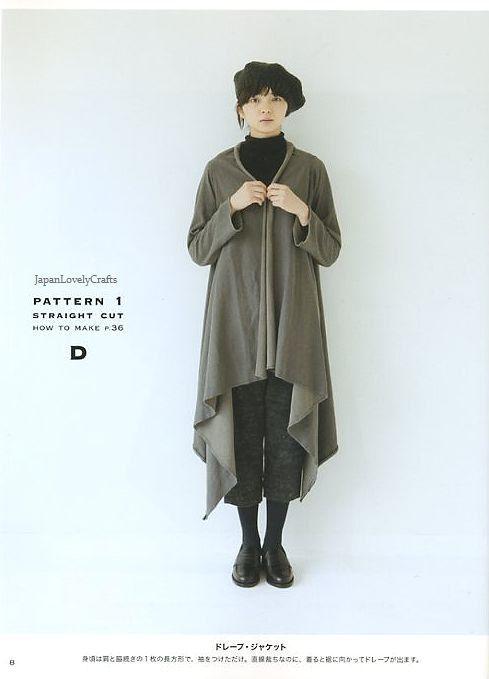 Easy & All Year Round Coverup Yoshiko door JapanLovelyCrafts