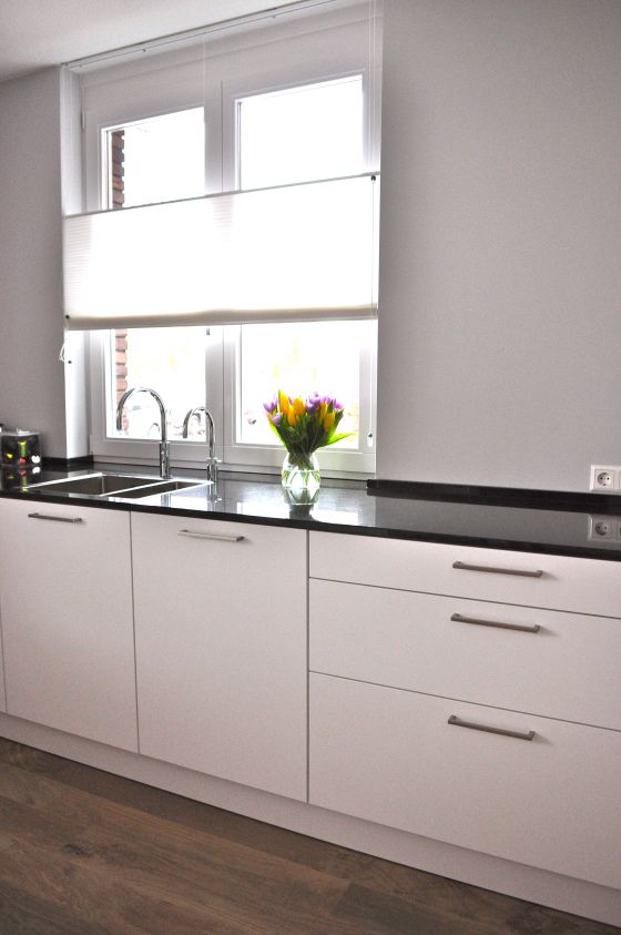 zwart graniet keukenblad