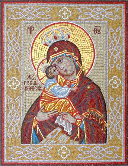 Мозаичные иконы: мозаика | Мастерская мозаики ArtMosaik, Одесса