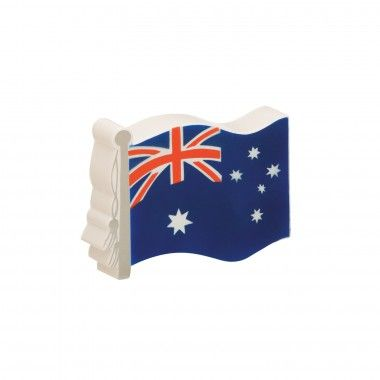 Need a stress toy that reflects your #Aussie pride? This squishable stress flag is a great tension reliever for those living Down Under.