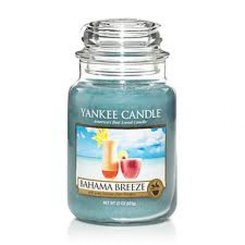 Yankee Candle  Bahama Breeze Housewarmer Jar.