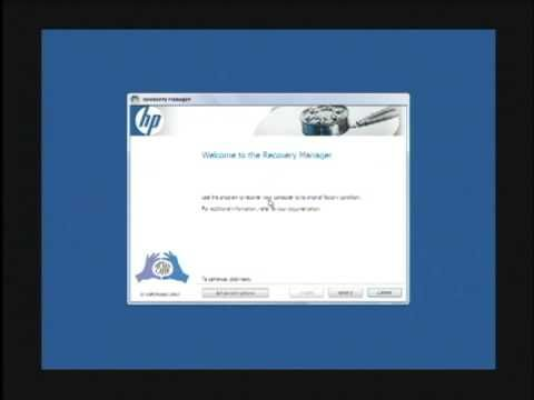 """To restore an HP computer to factory settings, boot up the computer, press the """"F11"""" key while it is booting up and follow the instructions that appear on th..."""