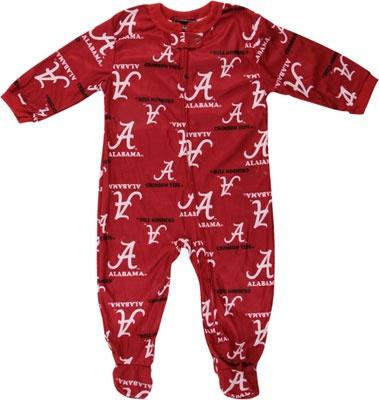 Alabama Crimson Tide adidas Cardinal Infant Full Zip Raglan Coverall