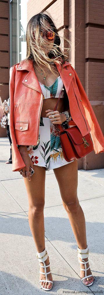 Street Style, NYFW. #boudoirfashionday