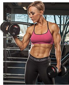Bodybuilding.com - Jessie Hilgenberg's Muscle-Building Tips