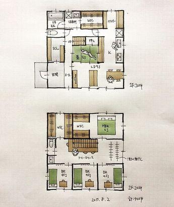 『40坪の間取り』 ・ 畳スペースを中心にグルグル回れる間取り。 ・ #間取り#間取り集 #間取り図 #間取り力 #間取り相談 #間取り図大好き #間取り図好き#マイホーム計画 #マイホーム計画三重 #マイホーム計画開始 #三重の間取り#三重の住宅 #三重の建築家 #三重の設計事務所 #住まいの設計#回遊動線#グルグル回れる間取り#40坪の間取り#畳スペース間取り#シューズクローゼット間取り #パントリーのある間取り