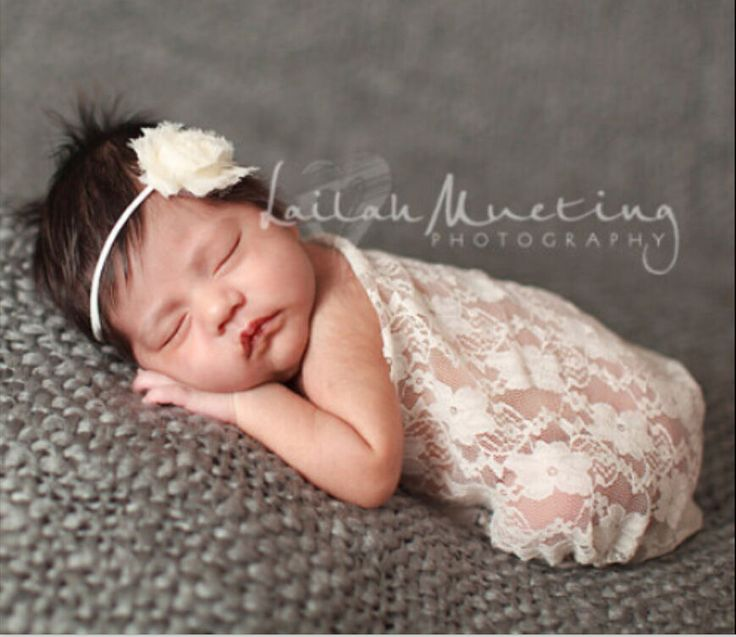 Newborn baby no stretch lace wrap photography prop headless flower nj 6