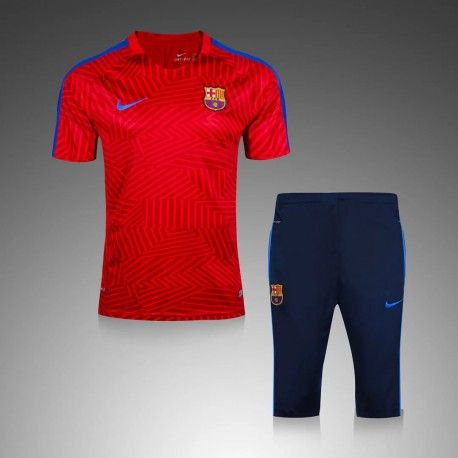 Maillot Training Barcelone Rouge