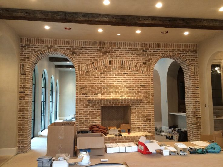 Thin Brick Interior Wall Arches Interior Brick Walls Pinterest Bricks Interiors And