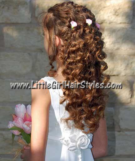 Flower Girl Hair Do Photos Of Little Girl Hairstyles Great For