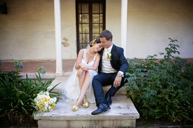 I think this would have to be my absolute favourite photo from our special day. I love all the yellow, our flowers were just beautiful and this was a completely spontaneous moment. #Rustic #Wedding #Yellow #Photography #Moment