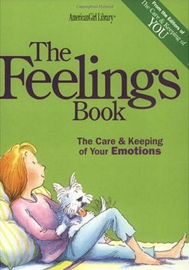 I have a feeling I'm gonna need this w/ 3 girls!  Book for 8 - 11 year old girls about dealing with emotions.