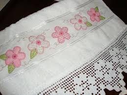 Resultado de imagem para flickr toalha de lavabo em patchwork